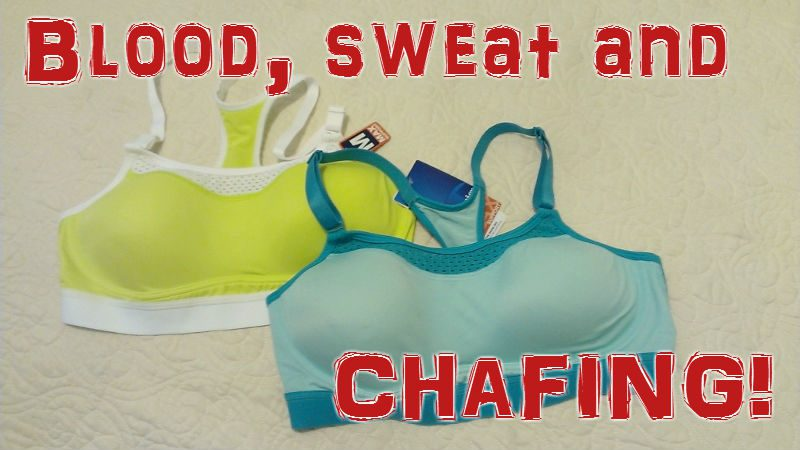 a89b58055 Show me your boob… sweat  Sports Bra Chafing and Marathon Running. - Run  Eat Repeat