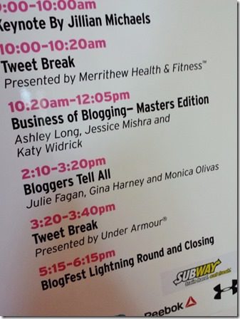 idea world fitness conference blogfest 9 600x800 thumb IDEA World Blog Fest Session with PB Fingers, Fitnessistsa and RER