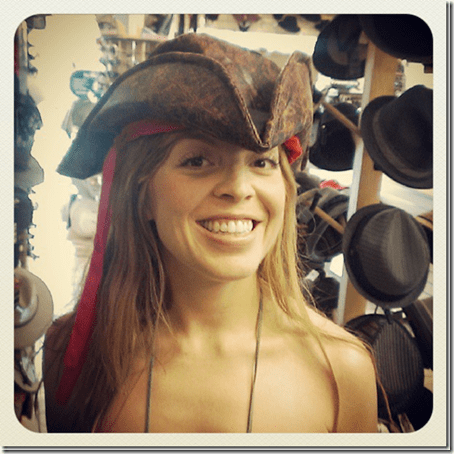my pirate hat