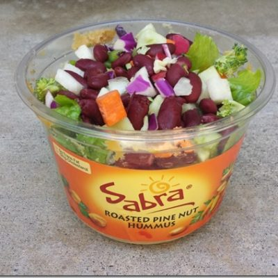 Oats in a Jar is so 2013 Salad in a Jar is Now.