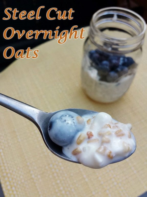 how to make steel cut oatmeal overnight