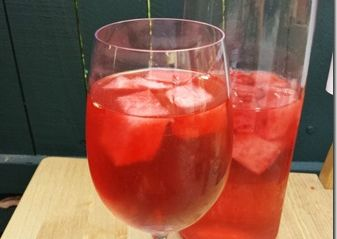 Watermelon Sangria Should Be the ONLY Sangria