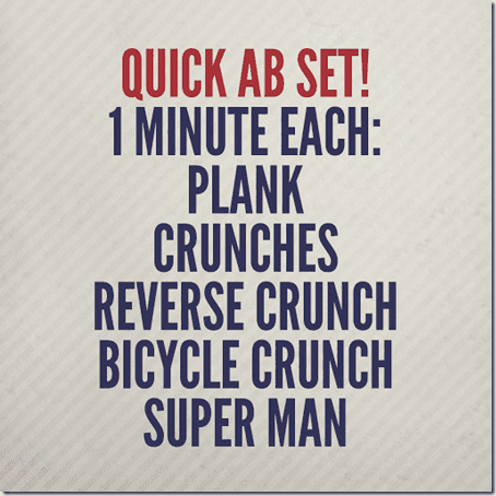 5 minutes of abs