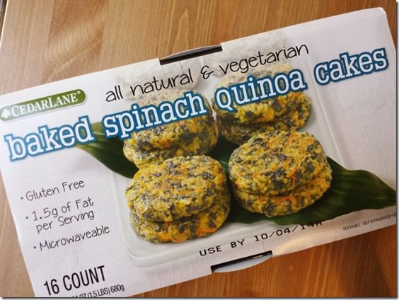 baked spinach quinoa cakes 800x600 thumb What Im Eating for My Thyroid Issues