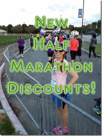 new half marathon discount code