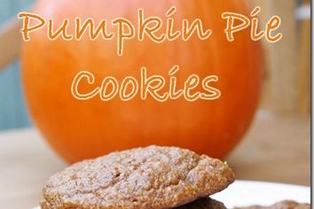Pumpkin Pie Cookies Recipe