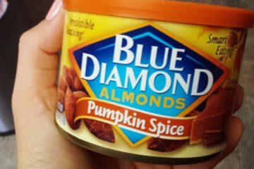 Friday Favorites Pumpkin Spice Almonds in my Purse