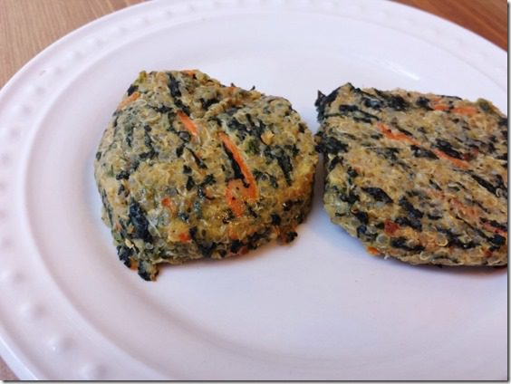 quinoa cakes 800x600 thumb What Im Eating for My Thyroid Issues