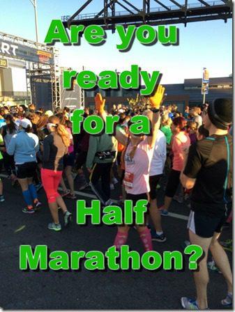 ready to run half marathon