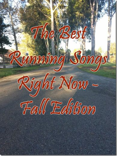 running playlist for fall