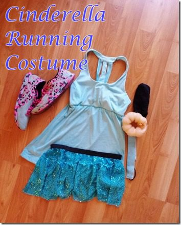 cinderella running costume how to make easy