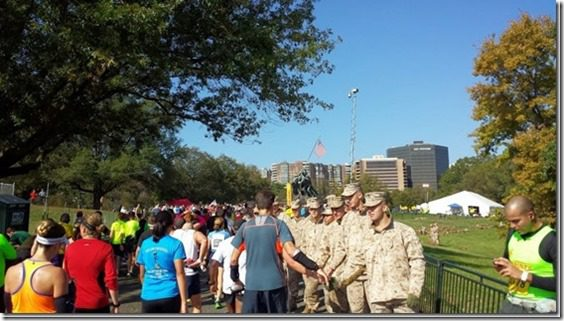 marine corps finish line