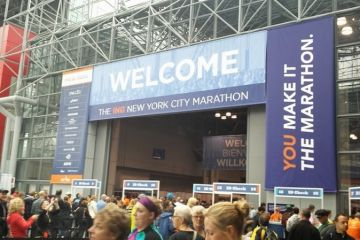 Cheers to the New York City Marathon Runners