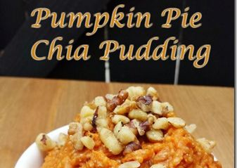 Pumpkin Pie Pudding with Chia Seeds
