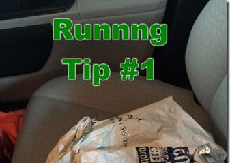 Running Tip–Save Your Space Blanket