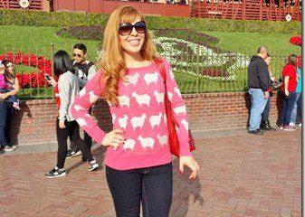 Disneyland with My Peeps