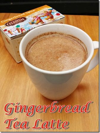 gingerbread tea latte recipe healthy