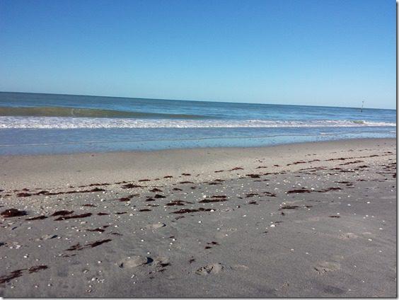 near da beach