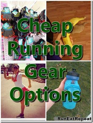 cheap running gear list