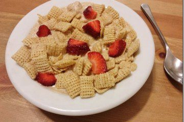 Peanut Butter and Strawberry Jelly Cereal