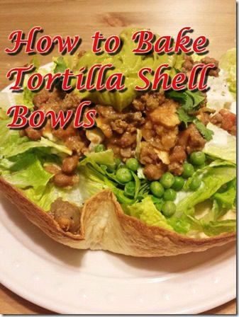how to bake tortilla shells tostada