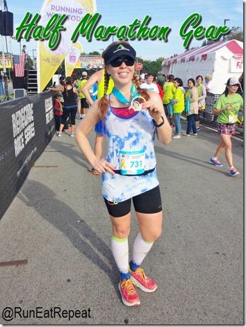 best half marathon running gear blog