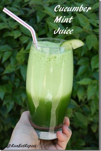 cucumber mint juice recipe