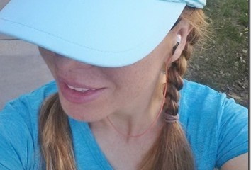 The Cutest Visor To Wear When Working Out Outside Hello