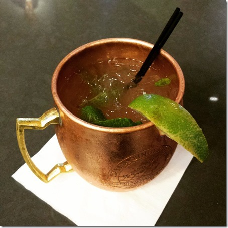 drink at LAX airport travel blog
