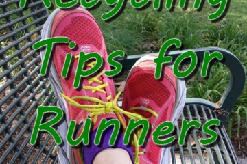 Recycling for Runners–Shoes AND Now Gels Packets!