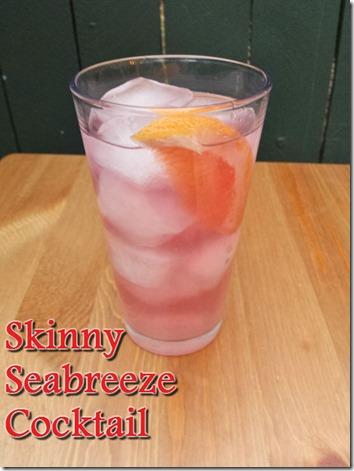 skinny seabreeze cocktail recipe