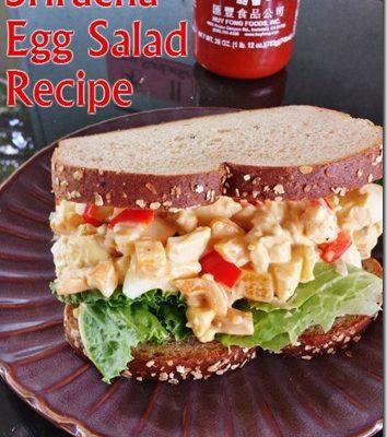 Sriracha Egg Salad Recipe