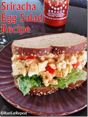 sriracha egg salad recipe blog healthy easy