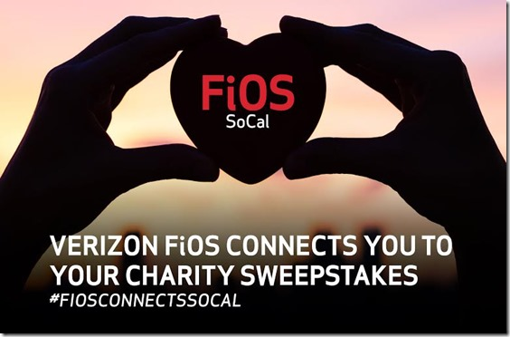 verizon fios and charity sweepstakes