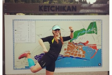 Running in Ketchikan While On a Cruise