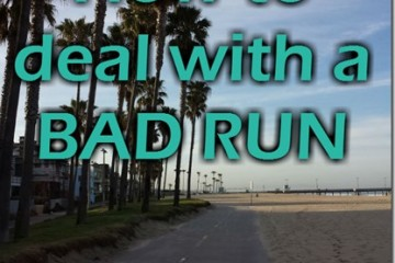 4 Ways to Deal with a BAD RUN when it's Happening