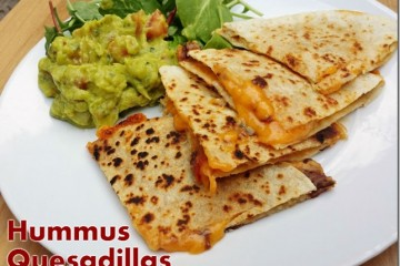 Hummus Quesadilla Recipe