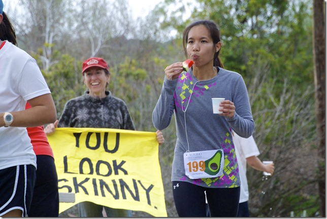 you look skinny