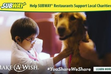 Subway and Make a Wish Foundation