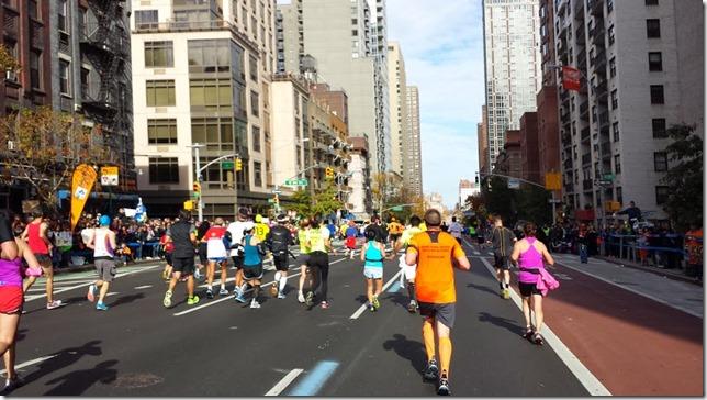 new york city marathon course