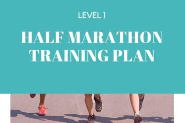 Half Marathon Training Plan Level 1