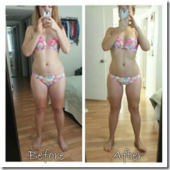 before and after advocare weight loss results