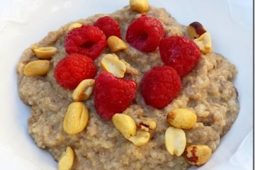 How to Make Oatmeal with Egg Whites
