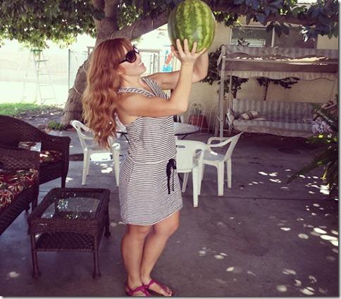 i love you watermelon