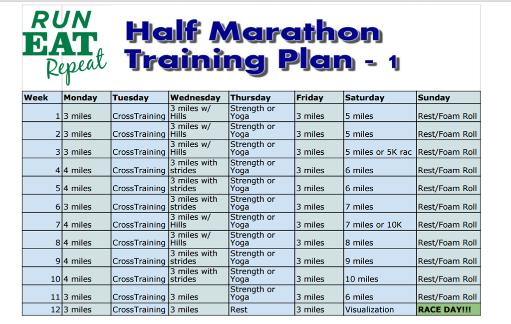 Half Marathon Training for Beginners