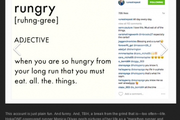 Only The BEST Day for Runners on Instagram Ever