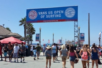 U.S. Open of Surfing in Huntington Beach