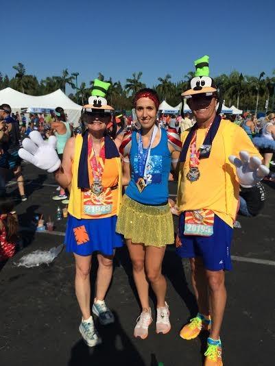 lindsey found her prince lindsey at disneyland half marathon  sc 1 st  Run Eat Repeat & Sleeping Beauty Running Costume