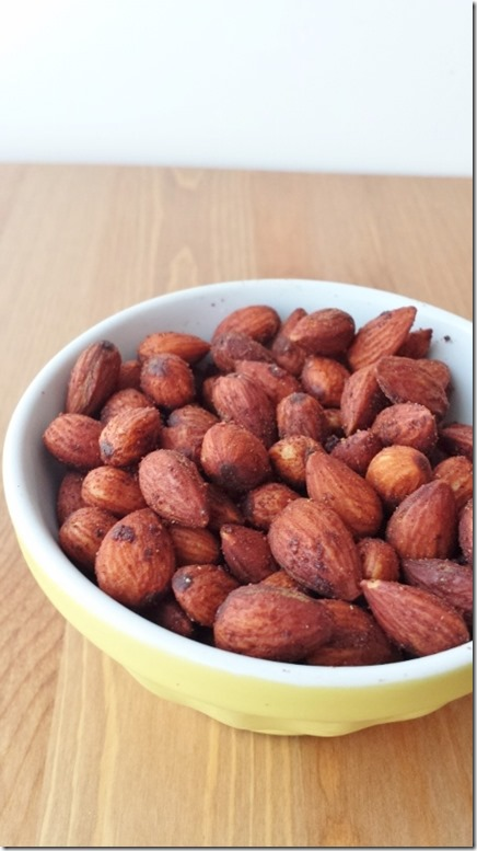 pumpkin spice almonds recipe 3 (450x800)