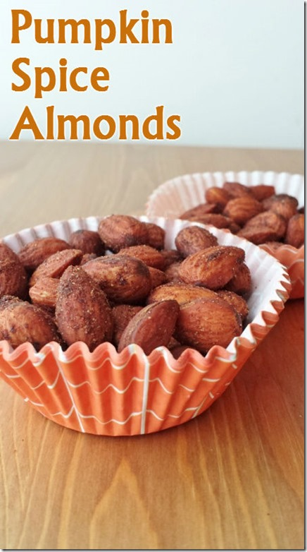 pumpkin spice almonds recipe healthy